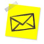 mail-yellow-white