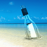 message-in-bottle