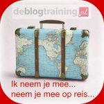 blog ik neem je mee op reis