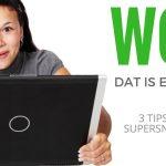 Tips voor een snelle website (SEO)