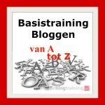 basistraining bloggen