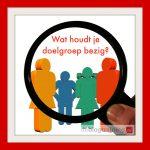 doelgroep bloggen vergrootglas